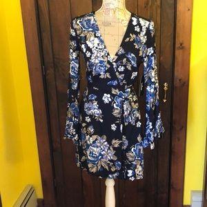 NEW Lightweight boho bell sleeve dress from Lulu's
